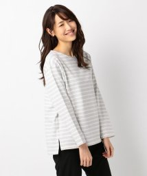 NIJYUSANKU(SMALL SIZE)/【LSsize限定】FRENCH TERRY BORDER カットソー/500766420