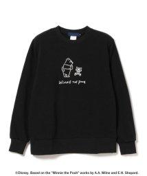 BEAMS MEN/Yu Nagaba × Pooh / Winnie The Pooh Crew Neck/500766817