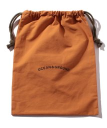 OCEAN&GROUND/コットン巾着大 O&G/500697460