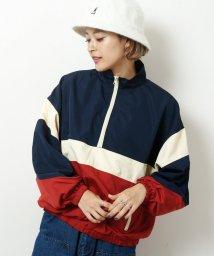 DOUBLE NAME/配色アノラック/500767999