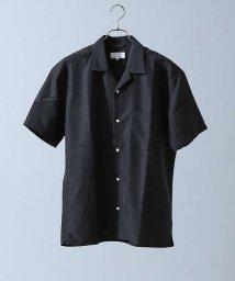ABAHOUSE/【WEB別注】モダールオープンカラー半袖シャツ/500769318