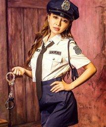 Dita/costume【コスチューム】コスプレ/クールポリス6点セット(帽子、シャツ、スカート、ネクタイ、手錠(玩具)、警縄)/500769425