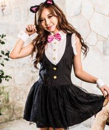 Dita/costume【コスチューム】コスプレ/ミルキーキャット4点セット(ドレス、カチューシャ―、カフス、蝶ネクタイ)/500769446