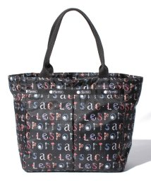 LeSportsac/SMALL EVERYGIRL TOTE フローラルアルファベット/LS0019724
