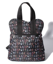 LeSportsac/EVERYDAY BACKPACK フローラルアルファベット/LS0019733