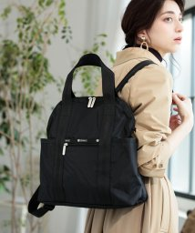 LeSportsac/DOUBLE TROUBLE BACKPACK オニキス/LS0019762
