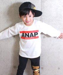 ANAP KIDS/アドレスロゴTシャツ/500761693