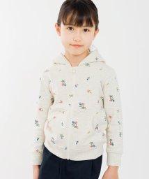 SHIPS KIDS/SHIPS KIDS:フラワー 刺繍 パーカー(100~130cm)/500769545
