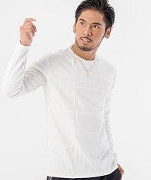 CavariA/CavariA【キャバリア】切り替えデザインクルーネック長袖Tシャツ/500796078