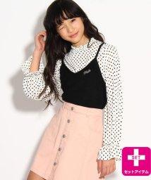 PINK-latte/★ニコラ掲載★キャミSETブラウス/500797662