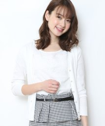JUSGLITTY/レース切替インナー付アンサンブル/500798838