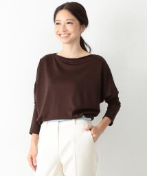 BEAMS OUTLET/Demi-Luxe BEAMS / ウォッシャブル ラインネックプルオーバー/500760590