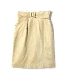 PROPORTION BODY DRESSING/フェイクスエードサッシュタイトスカート/500799649