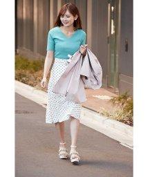 PROPORTION BODY DRESSING/【CanCam 5月号掲載】ドットフレアーミディスカート/500799652