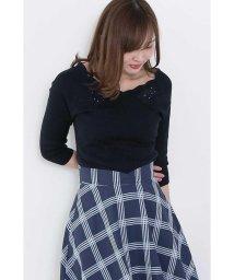 PROPORTION BODY DRESSING/【CanCam 5月号掲載】スカラフラワーレースニット/500799661