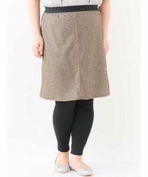 eur3/【大きいサイズ】レギンス付きスカート/500802127