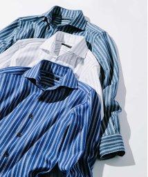 MICHEL KLEIN HOMME/ラッセルストライプシャツ/500802996