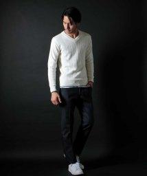 MICHEL KLEIN HOMME/デザインニット【Lily】/500803042