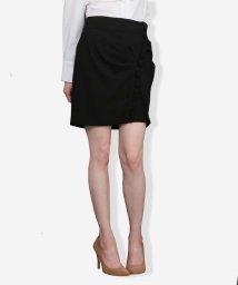 Tara Jarmon/タックデザインスカート IMPORTED/500804008