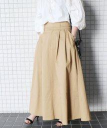 SLOBE IENA/《WEB限定》ハイウエストギャザースカート◆/500805023