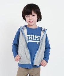SHIPS KIDS/SHIPS KIDS:フード ジップ ベスト(100~130cm)/500805146