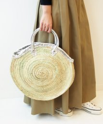 Spick & Span/【Fatima Morocco】レザープフバスケットL◆/500805394