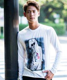 CavariA/CavariA【キャバリア】ガールズフォトプリントクル—ネック長袖Tシャツ/500805530