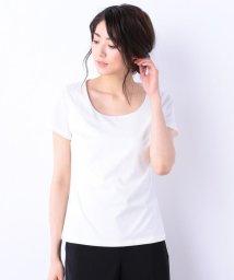 iCB/【洗える】Premium Jersey Uネック半袖カットソー/500806717