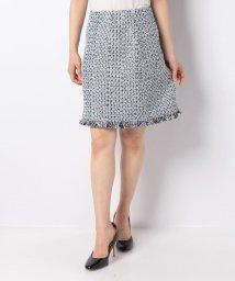 ELISA/リントンカラーミックスツィードスカート  /10267362N