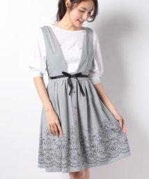 axes femme/裾刺繍ジャンドレ/500761816