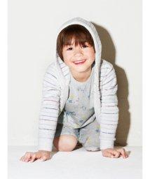 gelato pique Kids&Baby/'スムージィー'マルチボーダー kids パーカ/500806989