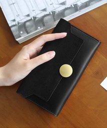 miniministore/三つ折り財布 レディース 長財布 かぶせ カード入れ 薄型長財布 ロングウォレット/500807469