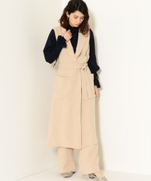 green label relaxing/KFC La Porte ロング ジレ/500756917