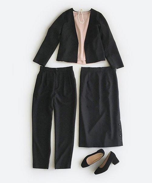 フォーマルジャケット・パンツ・スカートの3点セット