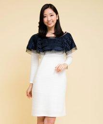 Millon Carats/ケープバイカラーワンピース[DRESS/ドレス]/500808811