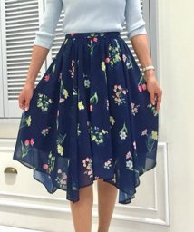 Noela/【セットアップ対応商品】オリジナルフラワーガーデン柄スカート/500809001