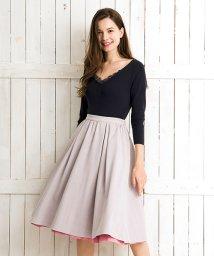 Noela/カラーリバーシブルスカート/500809004