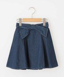 a.v.v(KID'S)/[100−130]インナーパンツ付きデニムスカート[WEB限定サイズ]/500813214