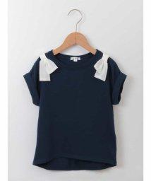 a.v.v(KID'S)/[100-130]肩リボンTシャツ[WEB限定サイズ]/500813314