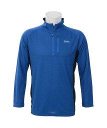 Alpine DESIGN/アルパインデザイン/メンズ/ハーフジップアップ長袖シャツ/500813552