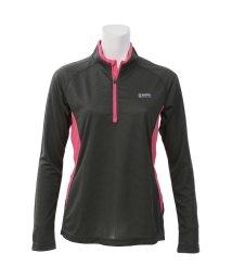 Alpine DESIGN/アルパインデザイン/レディス/ハーフジップアップ長袖シャツ/500813559