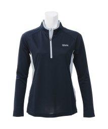 Alpine DESIGN/アルパインデザイン/レディス/ハーフジップアップ長袖シャツ/500813560