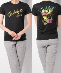 s.a.gear/エスエーギア/レディス/レディース半袖グラフィックTEE BASKETBALL/500813585
