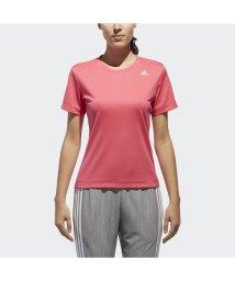 adidas/アディダス/レディス/W D2Mトレーニング定番ロゴワンポイント半袖Tシャツ/500813611