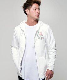 CavariA/CavariA【キャバリア】ライトストーン付き長袖ジップアップパーカー/500815103