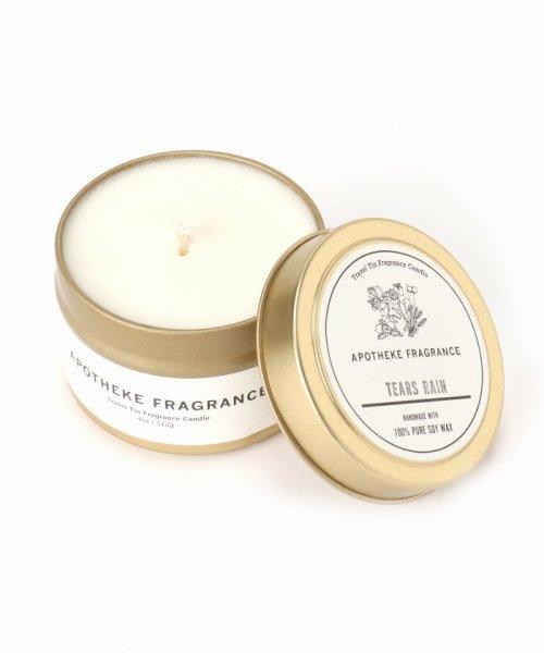 SAVE KHAKI(セイブカーキ)/APOTHEKE FRAGRANCE Tin Candle/17090612002210