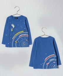 kladskap/電車×宇宙プリントTシャツ/500798450