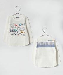kladskap/電車道路長袖Tシャツ/500798452