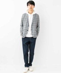 a.v.v (MEN)/【洗える】ポリグレンチェックテーラードジャケット/500815791