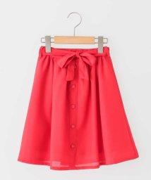 a.v.v(KID'S)/[100-130]フロントボタンウエストリボンスカート[WEB限定サイズ]/500816318